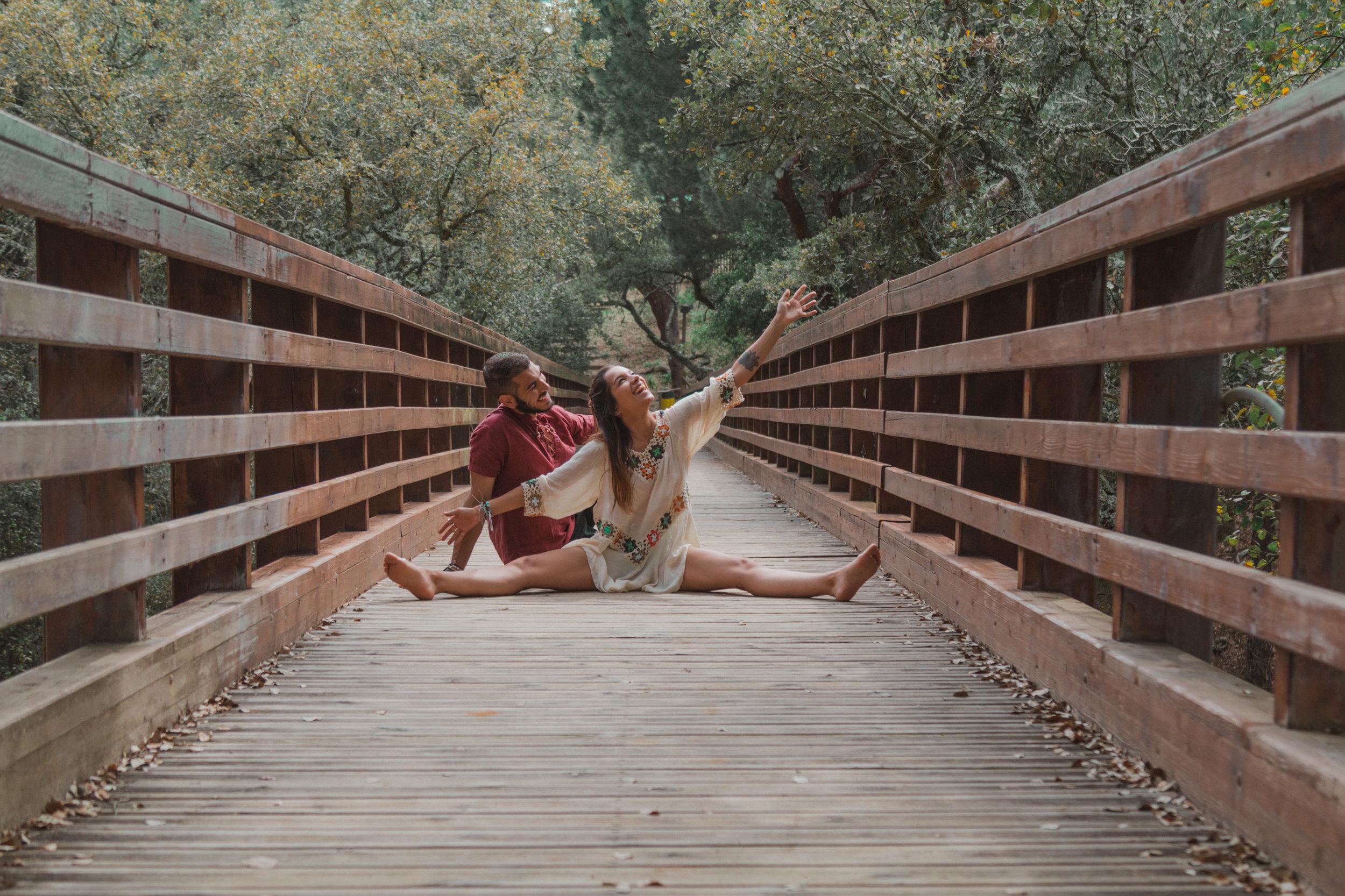 freeoversea at badoca safari park travel couple portugal alentejo wood brige photos explore nature