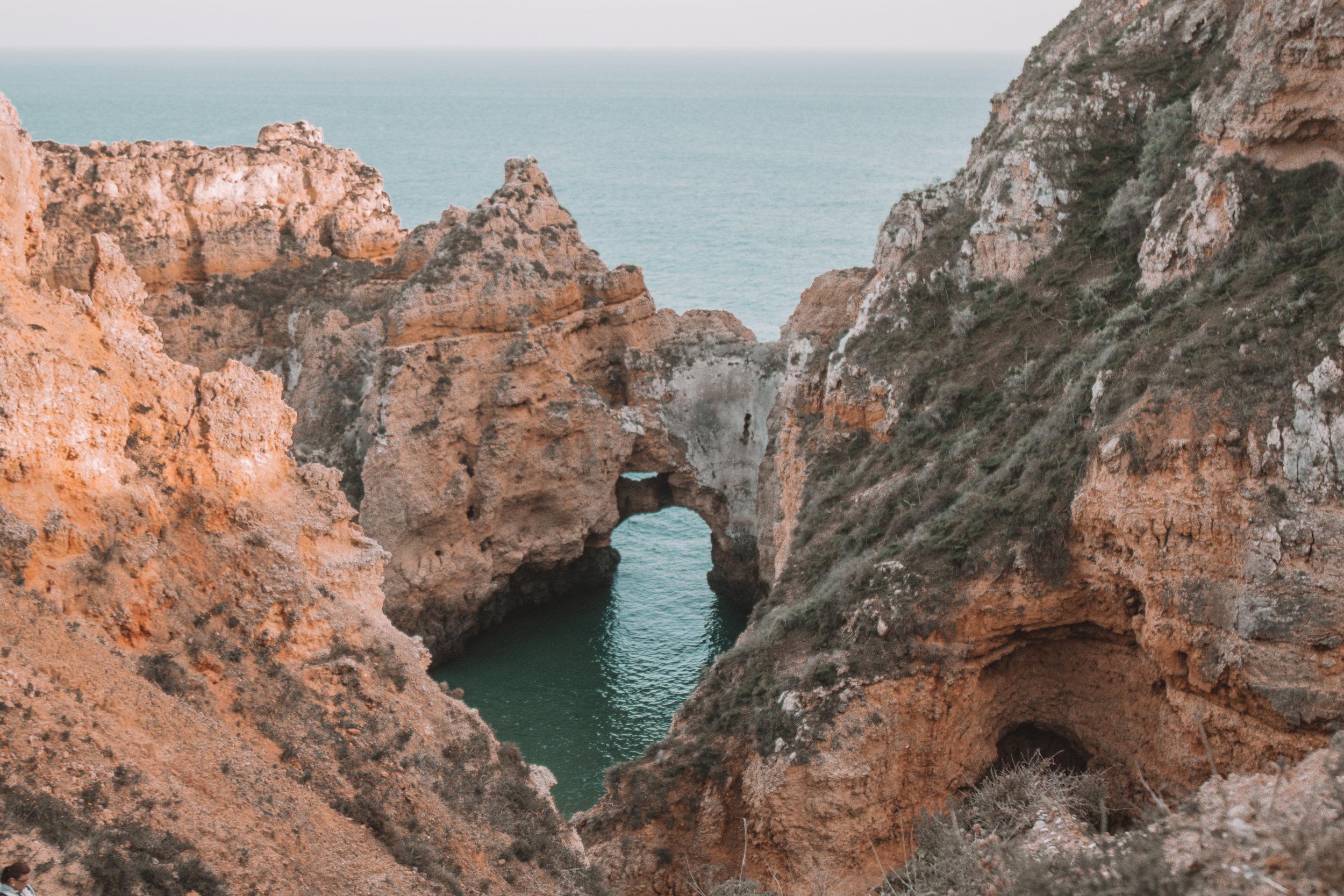 freeoversea algarve explore sea coast rock formations best secret places portugal