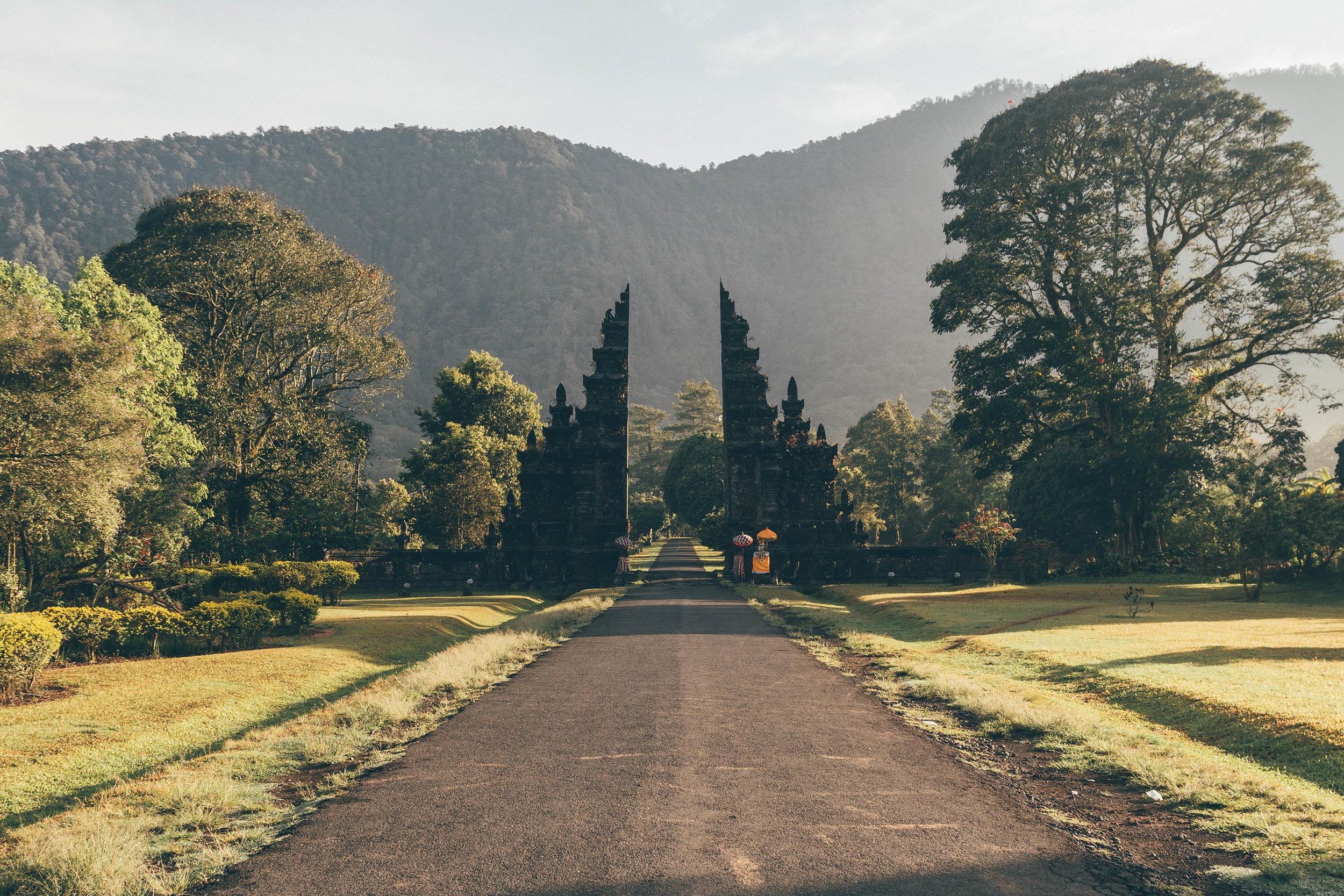 beat places to go bali munduk gates photos beautiful travel couple asia