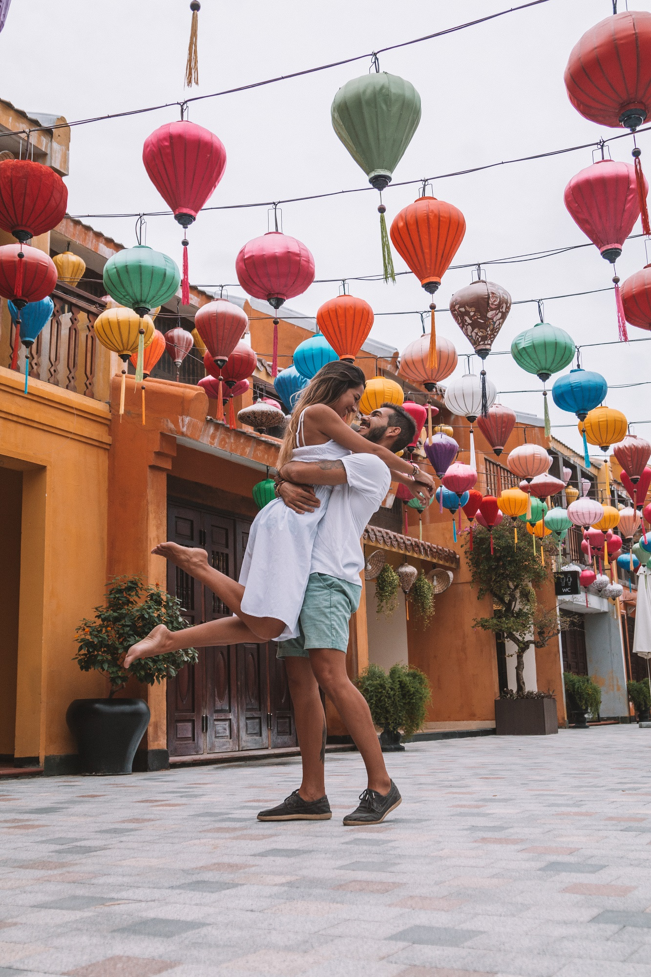 Vinpearl resort & Golf Nam Hoi An ancient town Unesco Heritage best luxury hotels Vietnam freeoversea travel couple romantic escape love beach front hotel amusement park