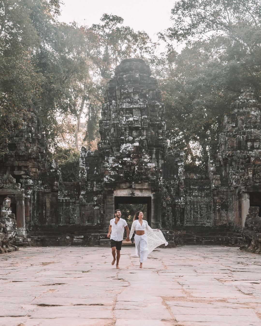 exploring temples cambodia patricia miguel freeoversea instagram