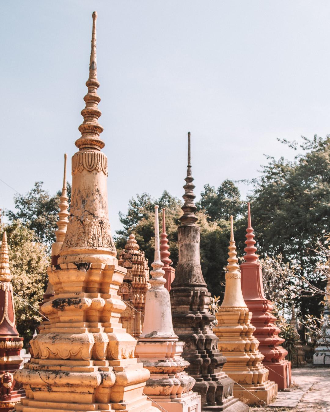 cambodia pagodas