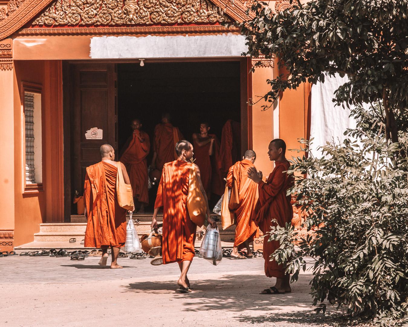 buddhist temples siem reap