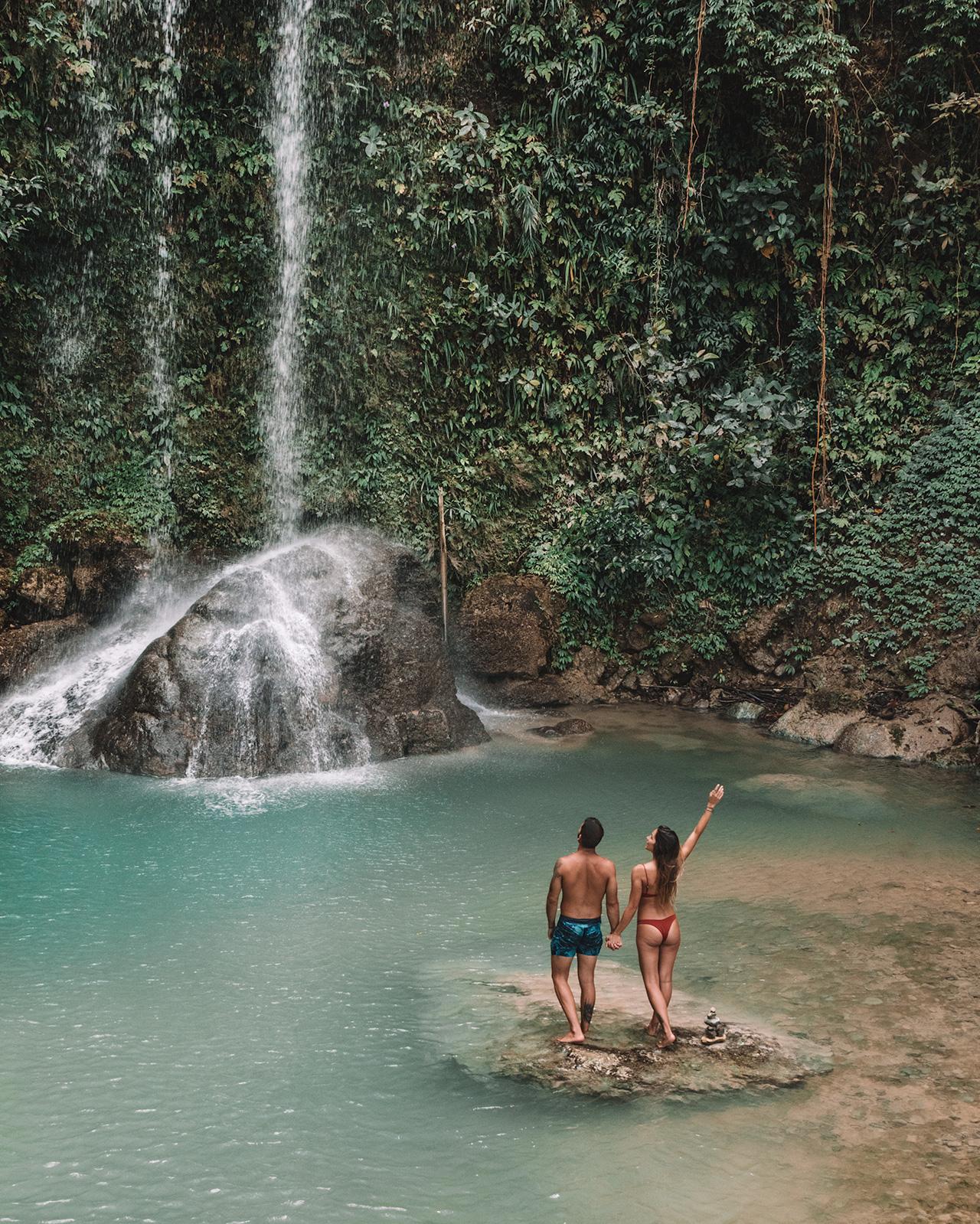 the adventure starts here cebu waterfall guide philippines wild nature beautiful