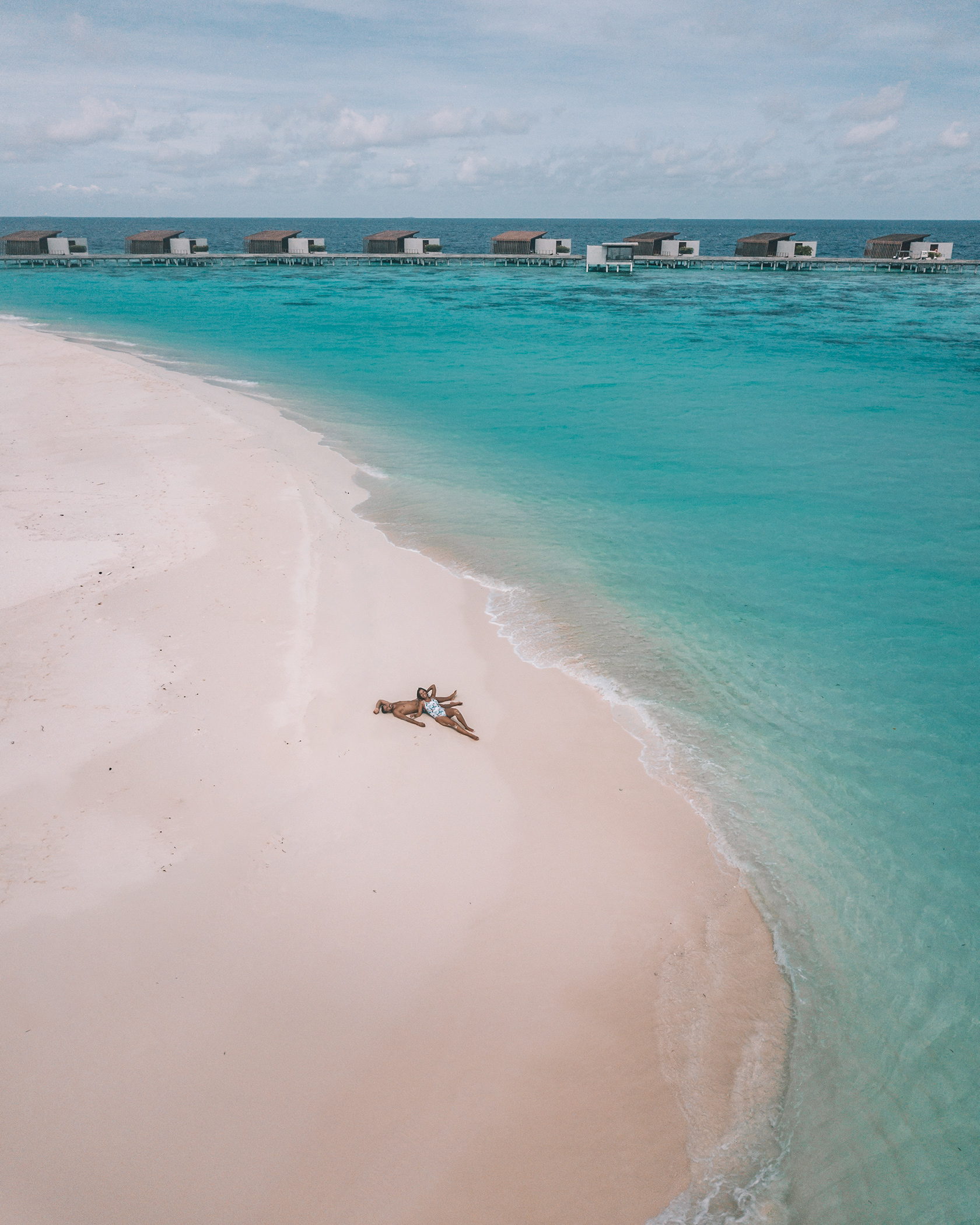 Couple beach photography Park Hyatt Hadahaa Maldives Leading Resort
