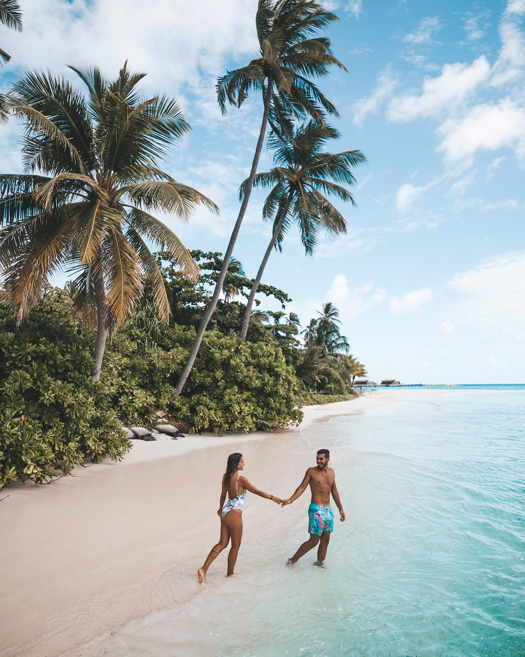 Maldives honeymoon couple destination