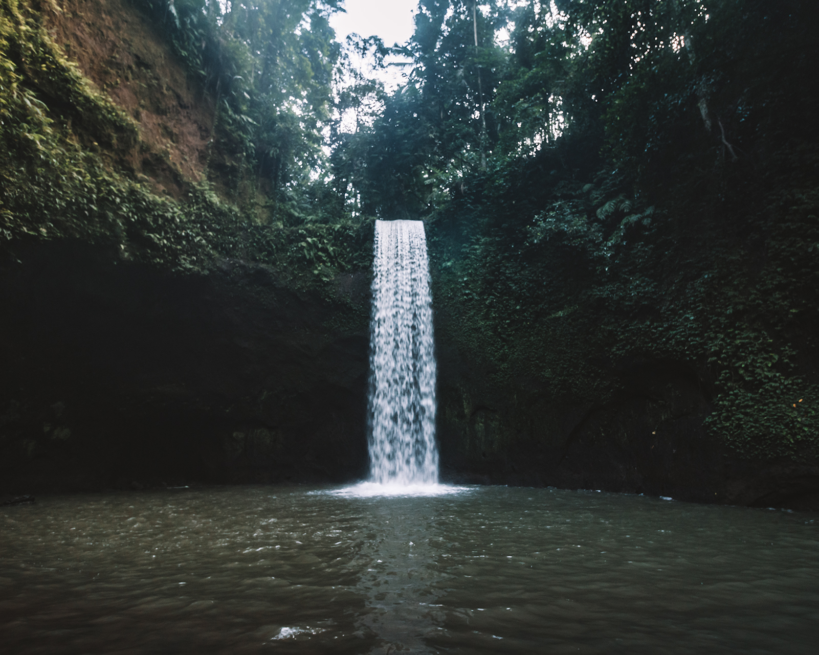 the unique tibumana waterfall in bali indonesia true gem amazing places beautiful nature travel couple guide freeoversea photography best