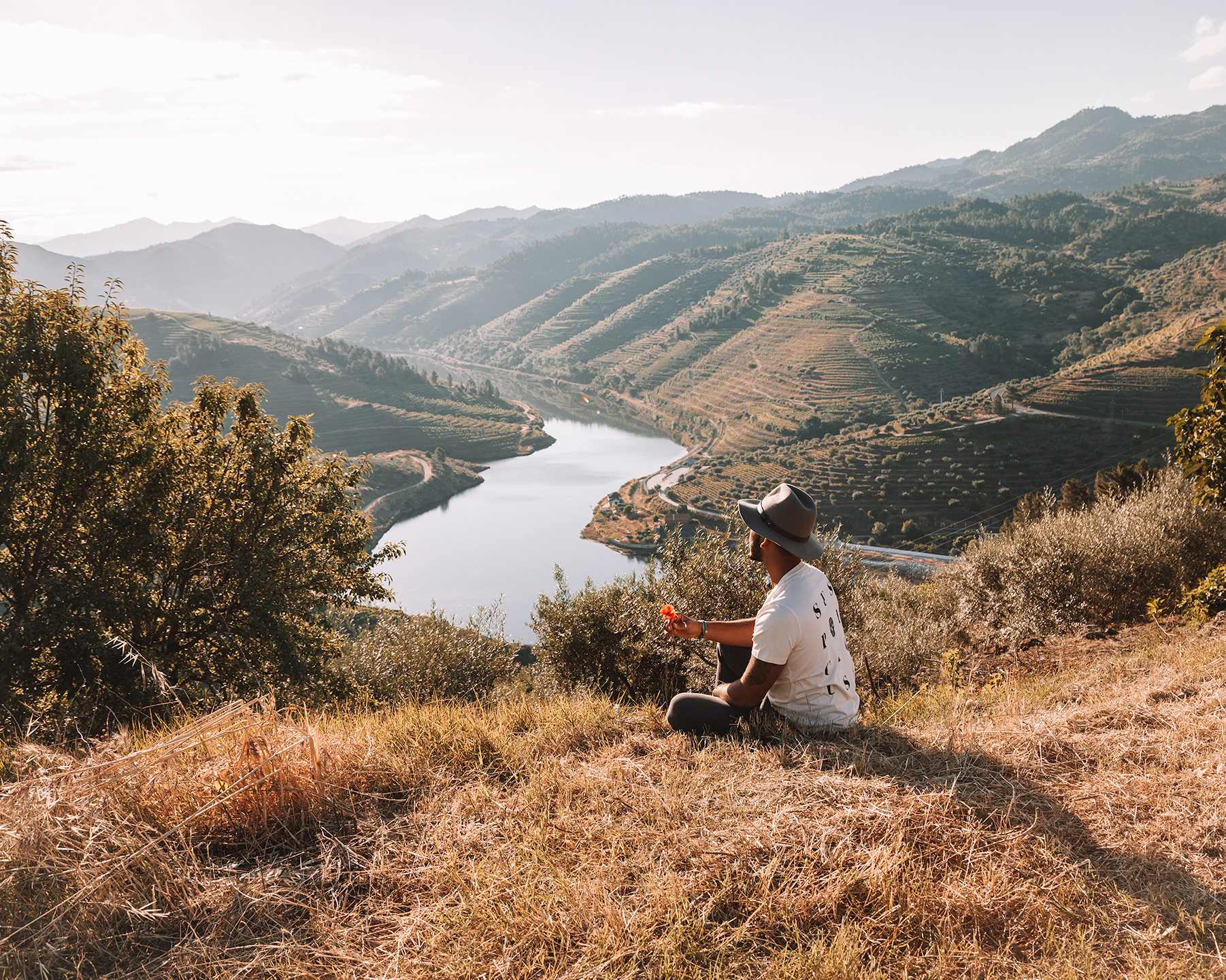 north road trip with portugal by van douro valley river landscape nature freeoversea couple