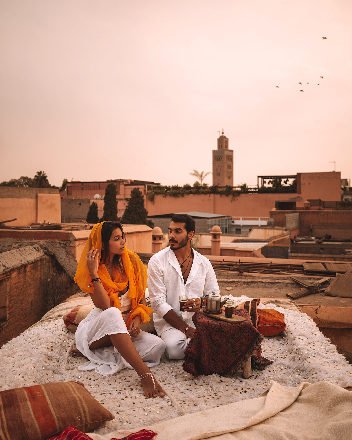 marrakech essential travel guide morocco beautiful places sunset rooftop instagrammable where to go freeoversea tea culture