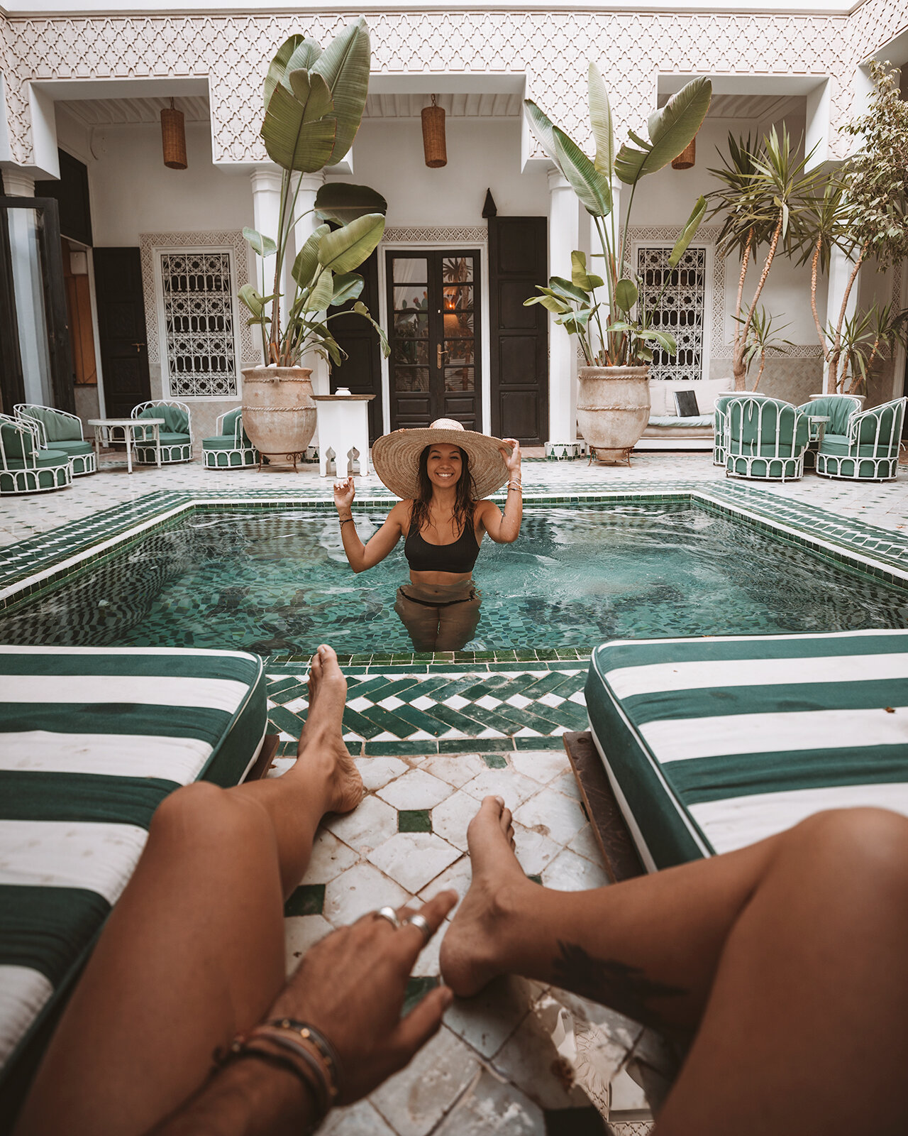 marrakech essential travel guide riad yasmine pool
