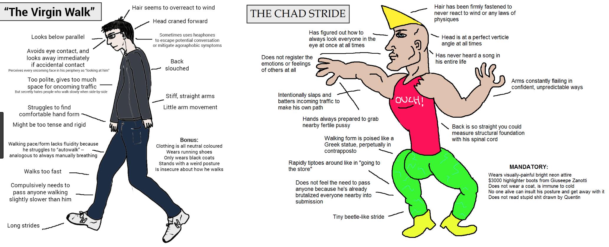 A popular Chad meme.