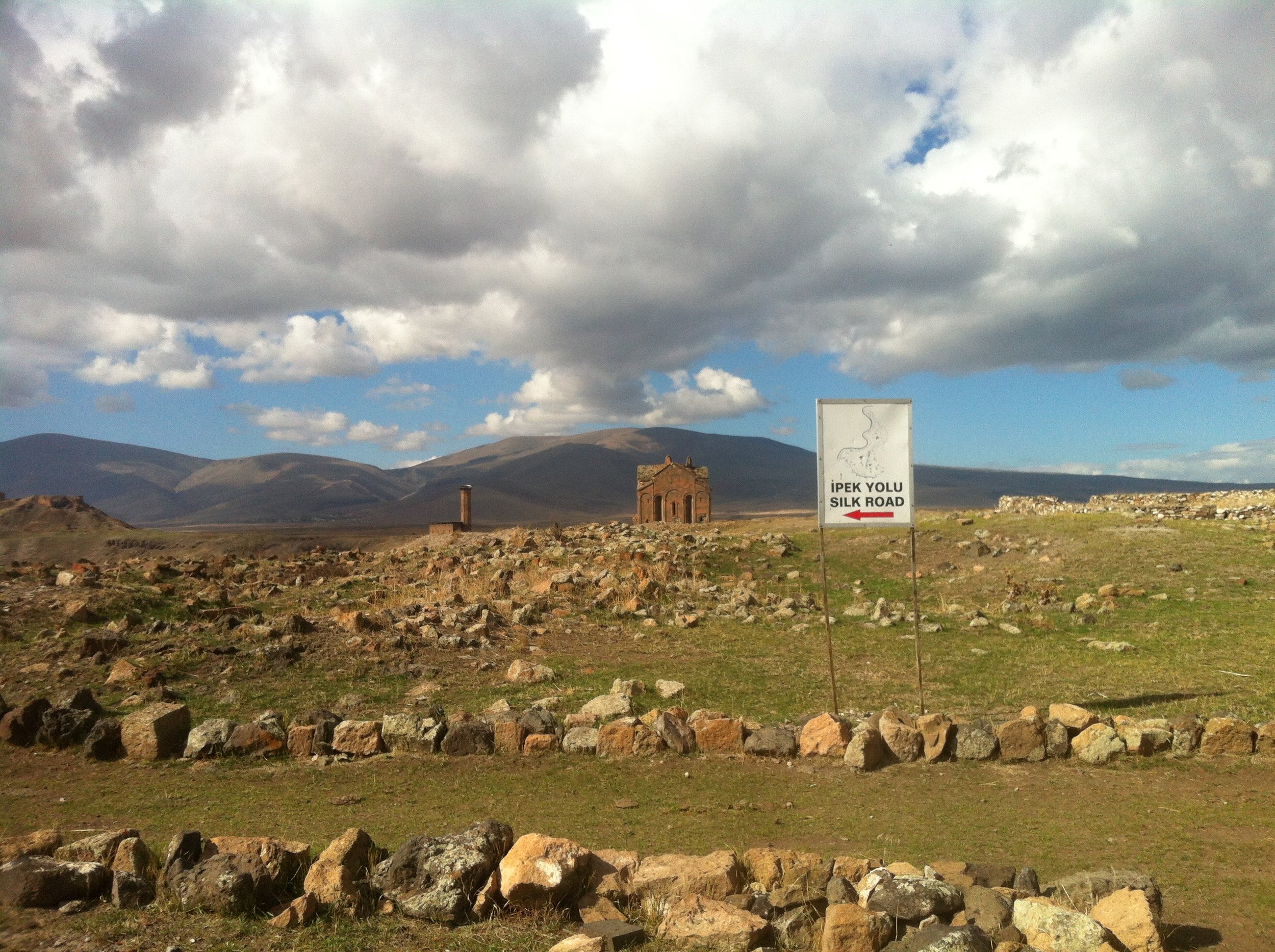ANI | The ruins of an ancient Armenian metropolis, somewhere between Turkey and Armenia. October 16, 2014.