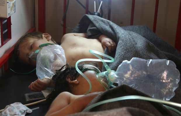 'They looked like they were drowning from the inside': Syrian residents recount gas attack