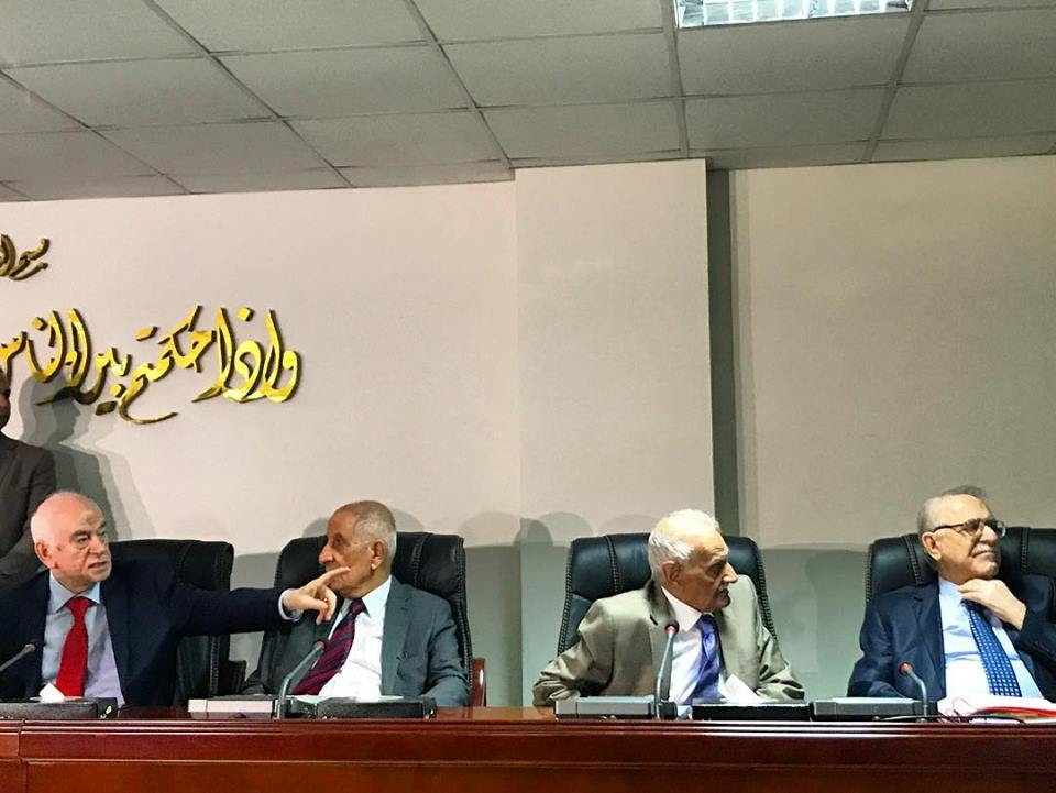 BAGHDAD | Iraq's Supreme Court upholds Parliament directive calling for a manual recount of the May 12 election. Pictured here 4/9 panel of judges. Big questions now: Will ongoing coalition talks be effectively stalled? What is the process by which a manual recount will be conducted? How will parties who have the most to lose react? Never a dull moment.  #iraqelections2018 . June 21, 2018.