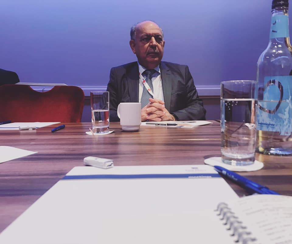 LONDON | We sit down with Iraq's Oil Minister Thamir Ghadhban to discuss several of the ministry's strategic priorities -- including an imminent Heads of Agreement with ExxonMobil, key gas sector projects and refining. Our exclusive interview here: https://www.iraqoilreport.com/news/qa-thamir-ghadhban-iraqs-deputy-prime-minister-for-energy-and-minister-of-oil-41872/ . June 30, 2019.