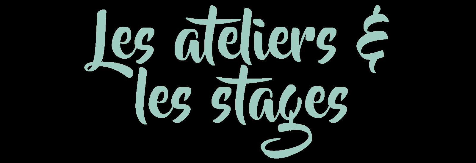 Ateliers et stages enfant à Lyon
