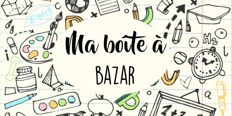 "Atelier ""Ma boîte à bazar"" du 11 mai"