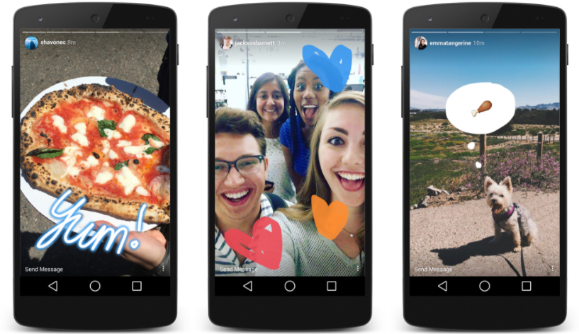Instagram's Snapchat clone is more popular than Snapchat.
