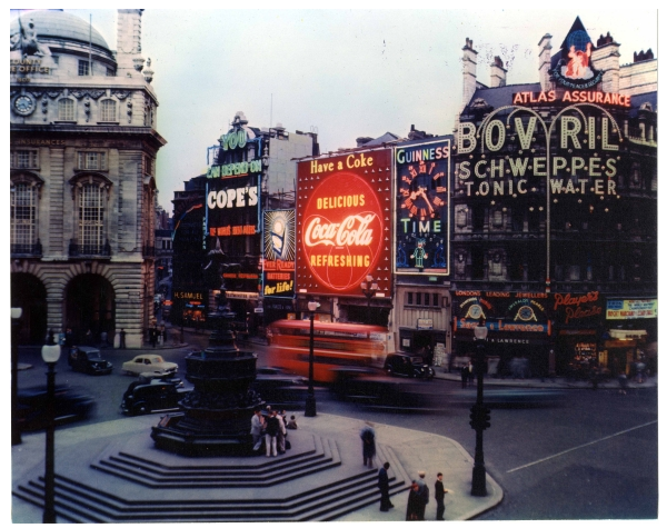 The Piccadily Sign: Coca-Cola