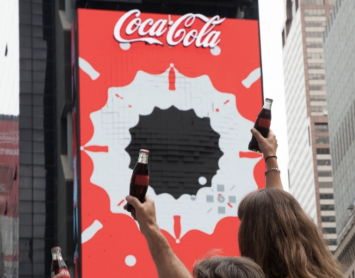 Coca-Cola 3D Billboard