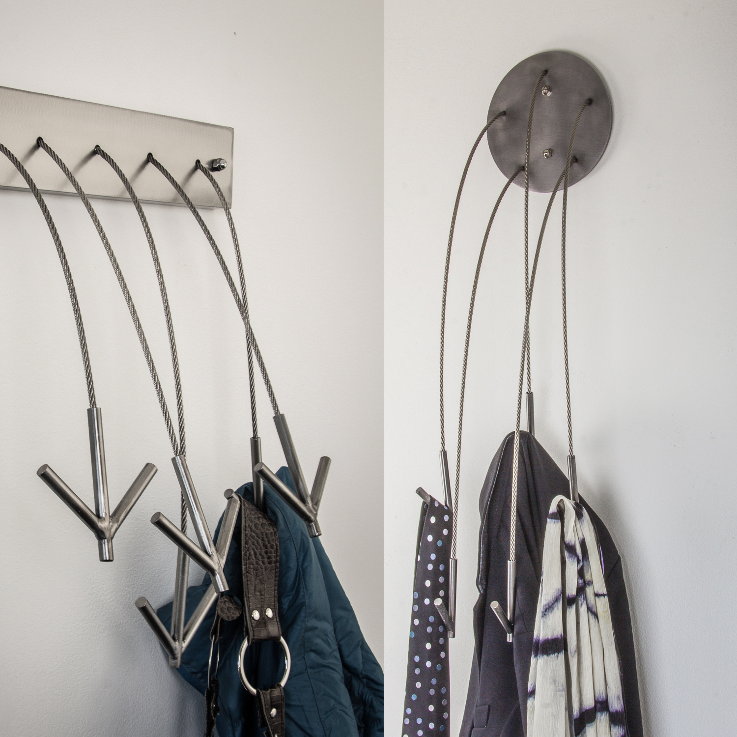 COAT, CLOTHING AND BIKE HOOKS