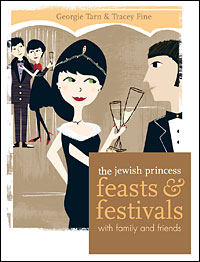 Book 2:  The Jewish Princess Cookbook, Feasts & Festivals with Family and Friends  The Jewish Princess is here with a refreshing, modern, humorous look at Jewish festivals, celebrations and feasts and why they are so important in the life of a Jewish Princess. Taking a typically upbeat look at the Jewish calendar, this book brings festival foods into the twenty-first century with a bang.   Book 2 Amazon link.