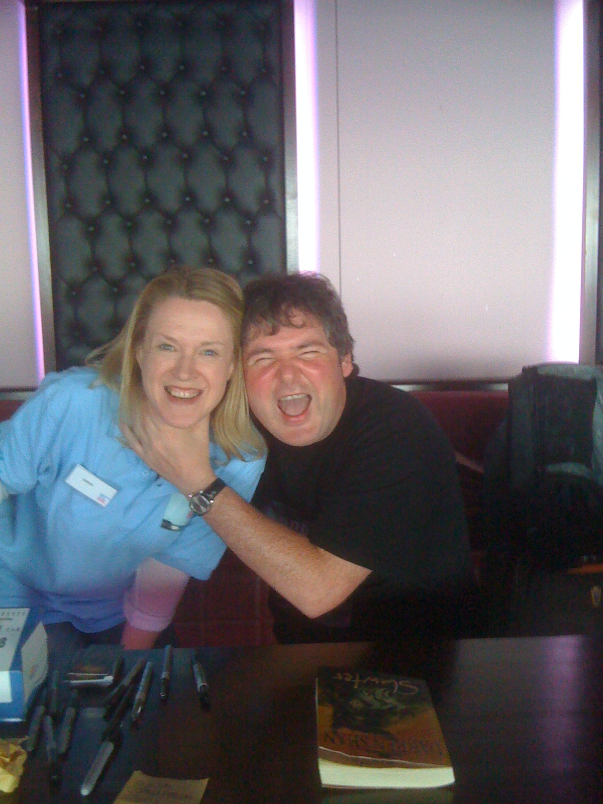 Sarah Gets Strangled by Darren Shan