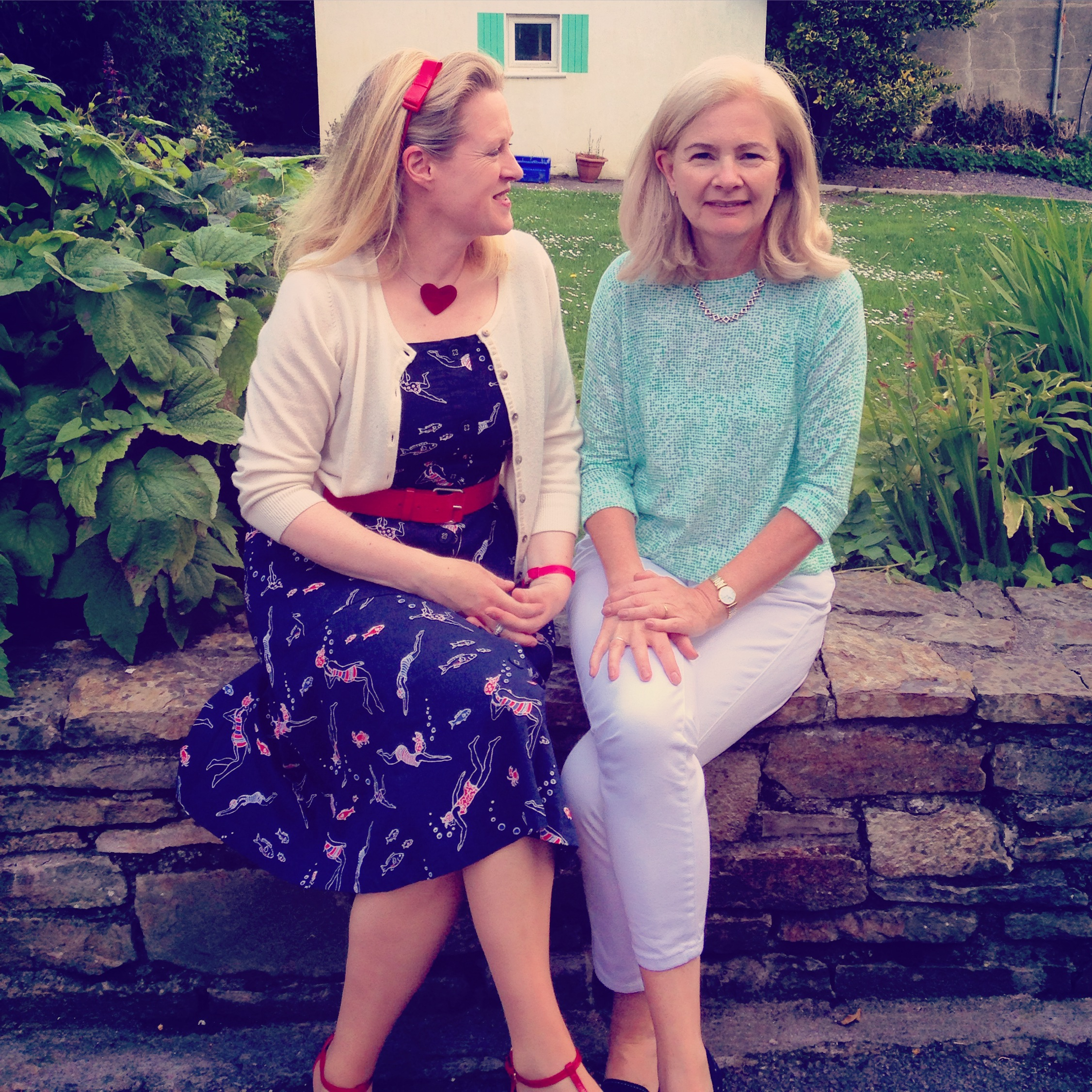 Chatting to Judi Curtin at the West Cork Literary Festival