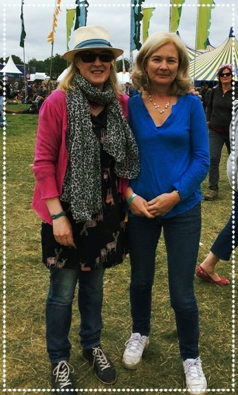 Judi and Sarah at Electric Picnic