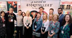 The Irish Writers and Illustrators (and friends) at the CBI Stand