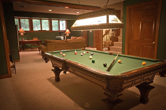 Question: Should you sell large items, such as a pool table, before your house goes on the market, or show the house with it? 🎱 This really depends on how large the room is — if it is occupied mostly by the pool table, then you might consider selling it. On the other hand, if there is enough space, leave it and alert potential buyers that the pool table is negotiable. 🏡 Just remember that if the new buyer does not want it and requests it to be removed, you could save yourself some time by having a buyer for the pool table lined up. #FortWayne #RealtorTips // Mike Thomas Realtors