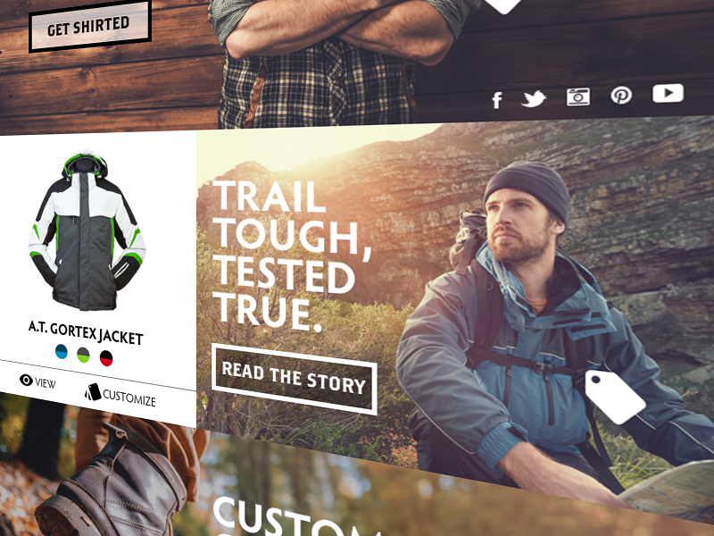 Mason Mountain Wear UX