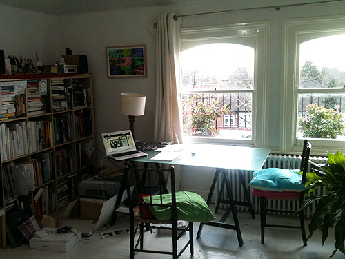 Mel's home studio