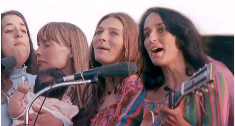 Mama Cass, Joni Mitchell, Judy Collins & Joan Baez, Big Sur 1968