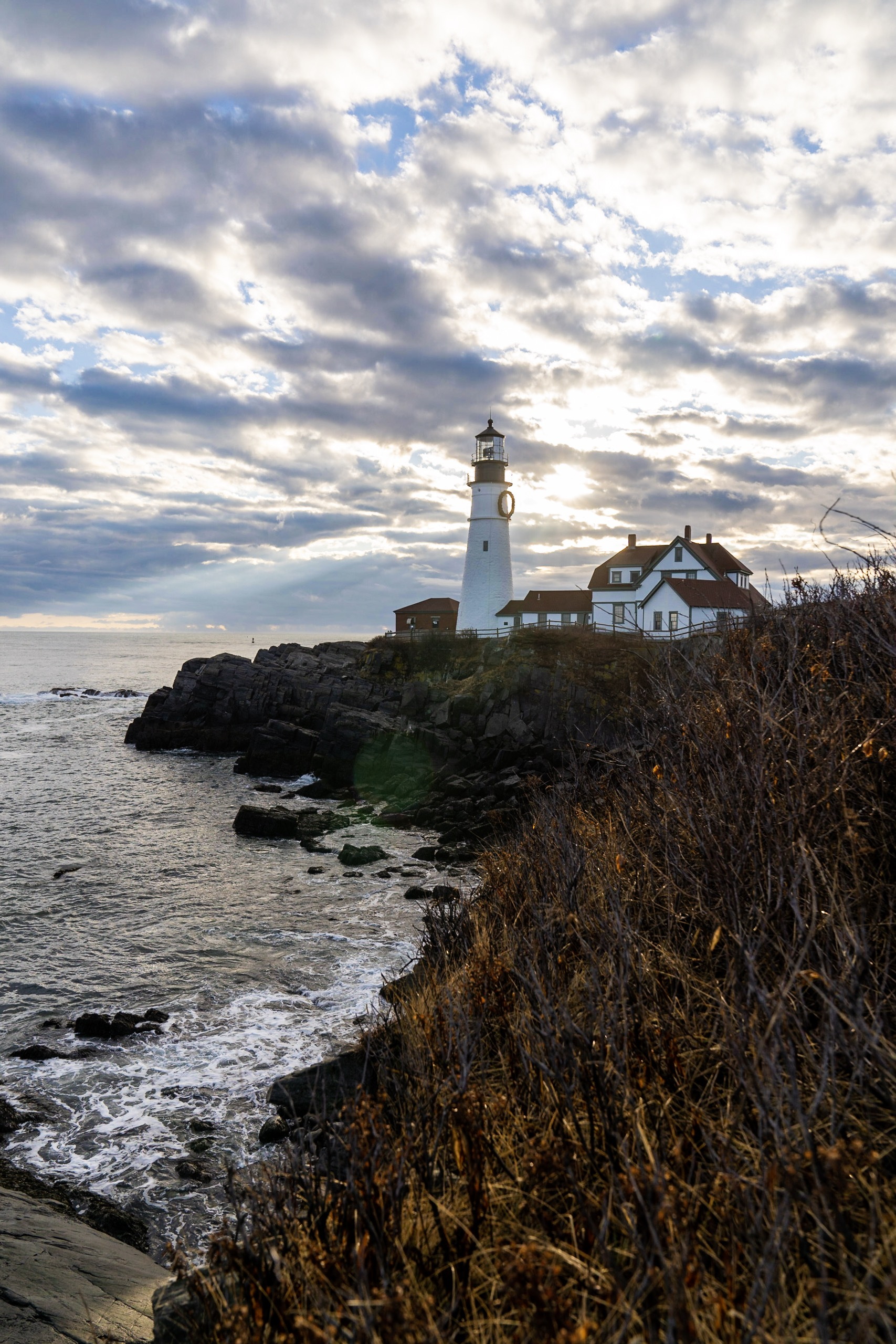 Portland Head Lighthouse in Maine.