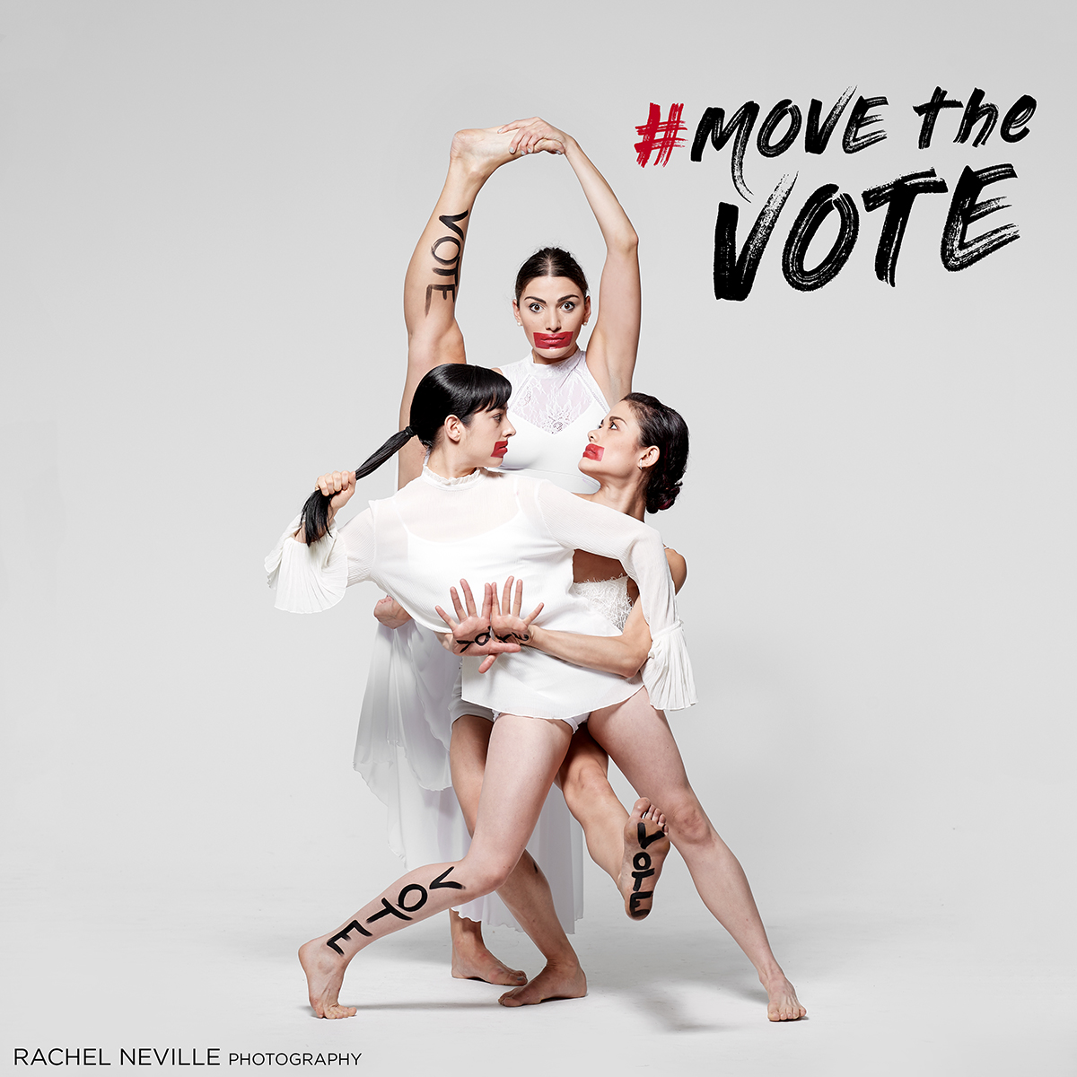 Photo courtesy of Rachel Neville, #movethevote campaign