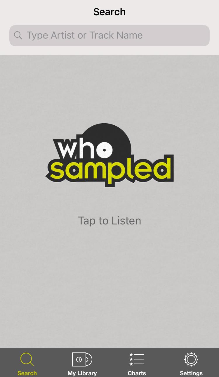 WhoSampled App Screenshot 1.png