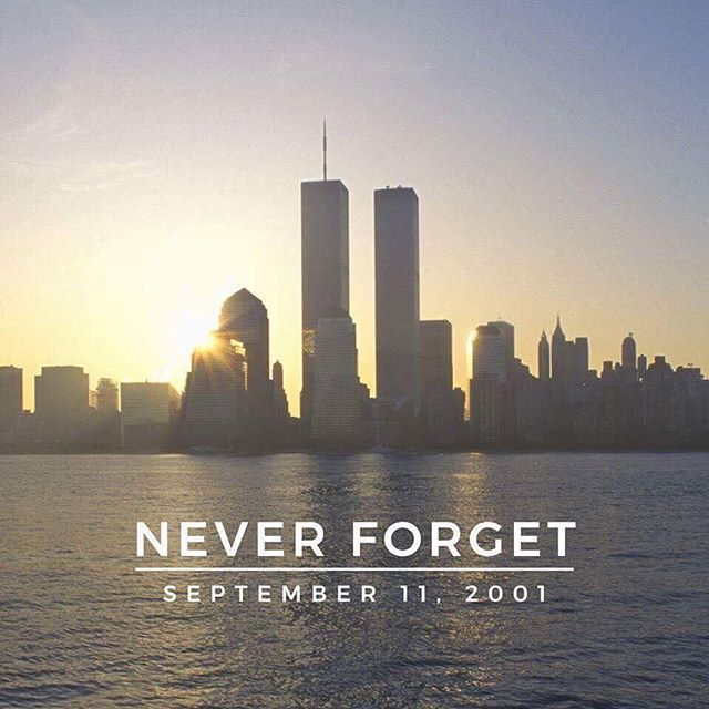 17 years ago, thousands of lives changed and continue to change to this day. We remember all those who made the ultimate sacrifice. Gone, but not forgotten.