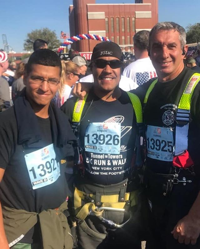 Today, members were up early to participate in the annual Stephen Siller Tunnel to Towers 5k charity run.  The annual race benefits the Stephen Siller Tunnel to Towers Foundation which honors the sacrifice of firefighter Stephen Siller who lost his life on September 11, 2001 after strapping on his gear and running through the Brooklyn Battery Tunnel to the Twin Towers.