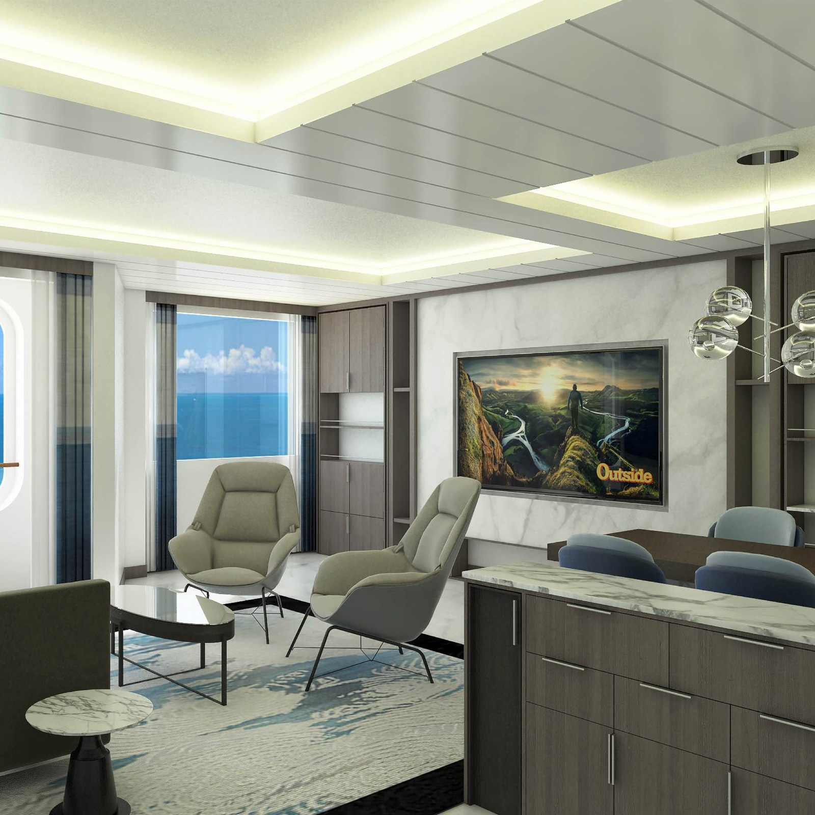 """""""By owning a world-class residence on Blue World, you'll experience luxury living aboard the first cruise line dedicated to active lifestyle cruising (sports, fitness, wellness). You'll be able to discover an amazing new world right from your home - and share it privately with family and friends."""" - Fredy DellisCo-Founder, Blue World VoyagesFormer President & CEO, The World at ResidenSeaPresident International, Burger King CorporationPresident International, The Hertz CorporationVisit BlueWorldOwnersClub.com"""