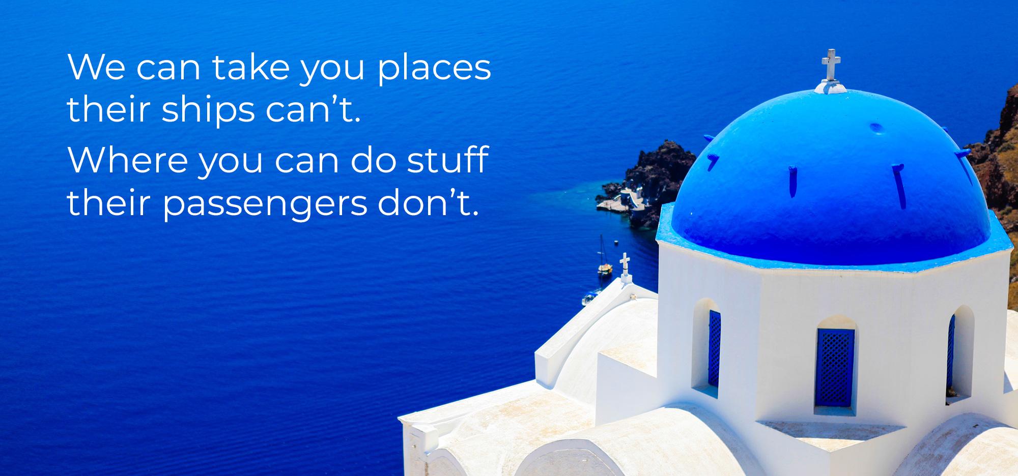 Blue World Voyages slide 4