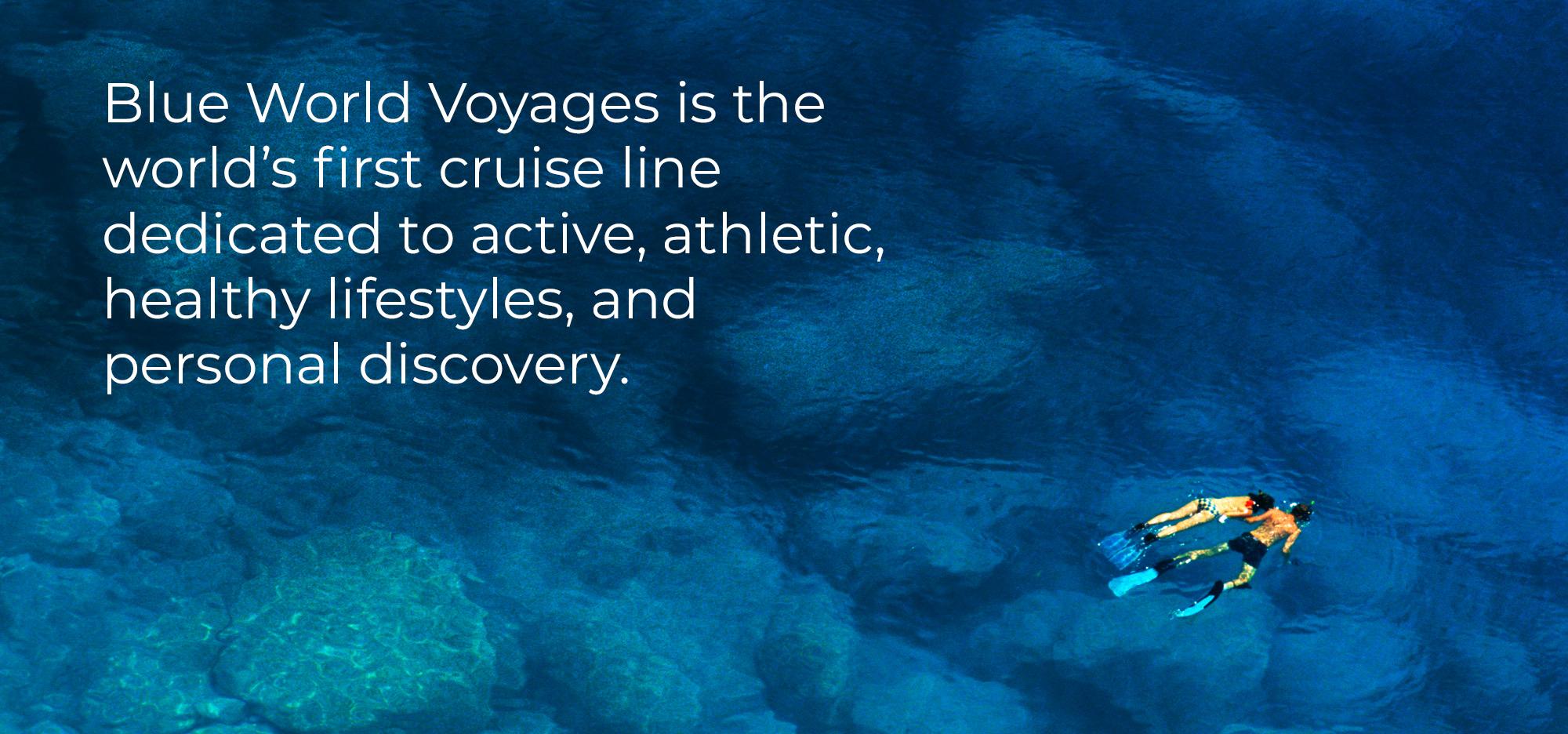 Blue World Voyages slide 1