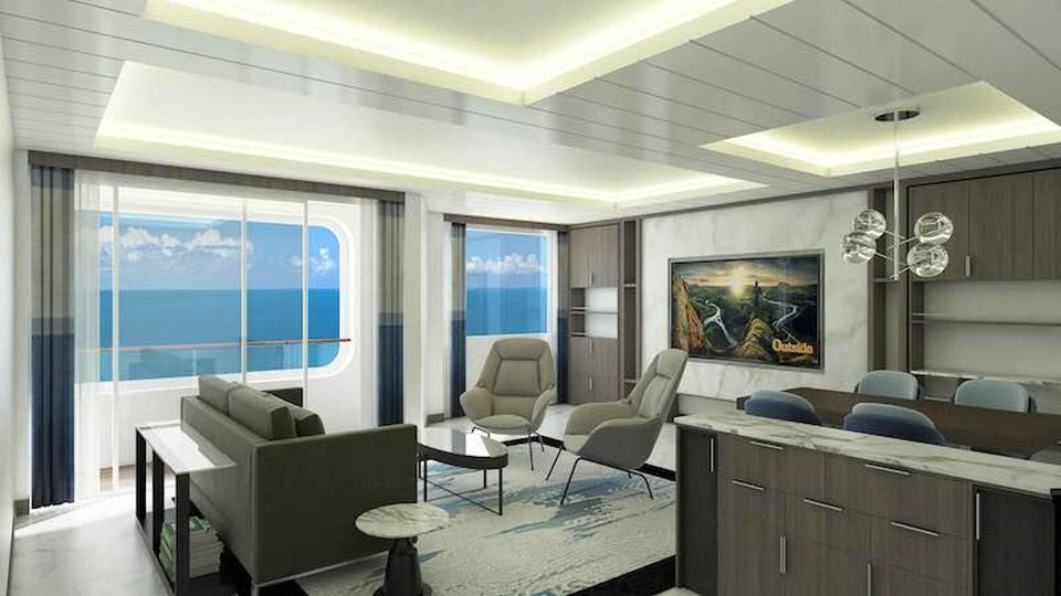 Rendering of Owner's Suite