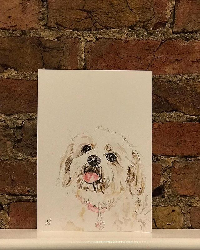 Little Dolly (A4 watercolour and fine liner)