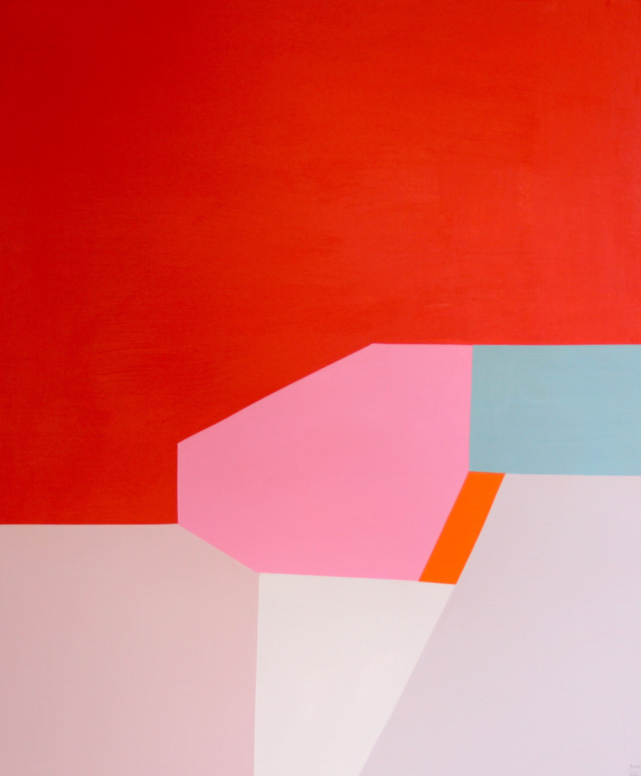SOLD - 'Tomato red'