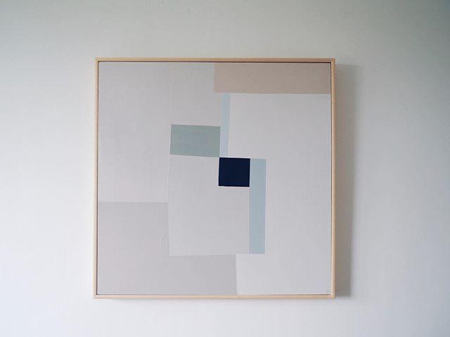 'Nude colour study II' Acrylic on plywood  Approx 61cm x 61cm