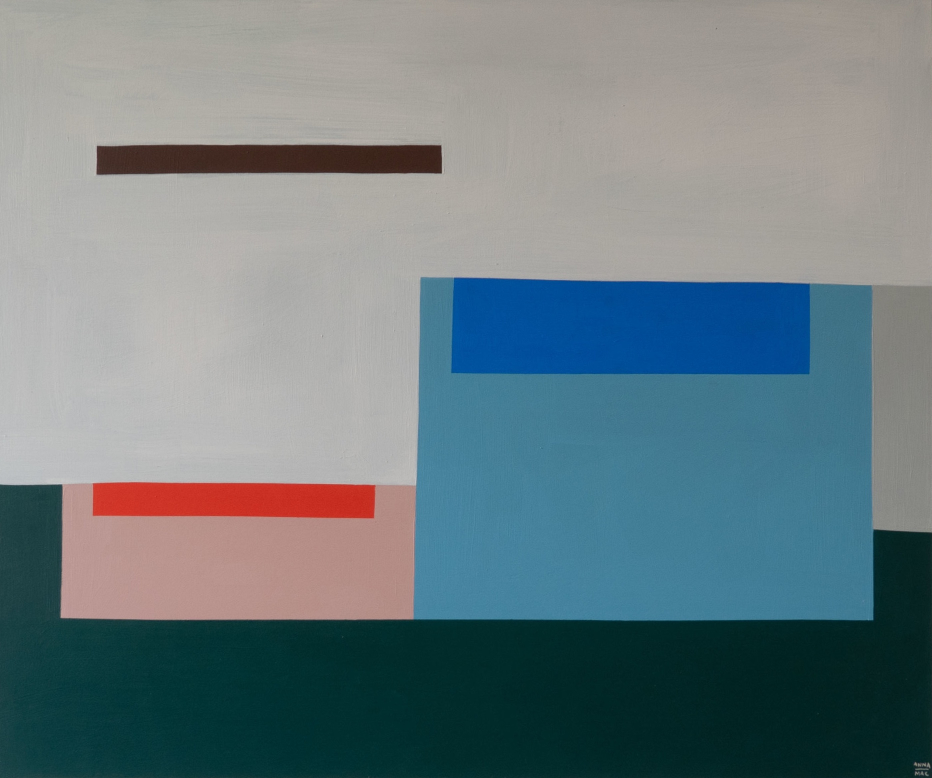 SOLD - 'Stillness by the pool'