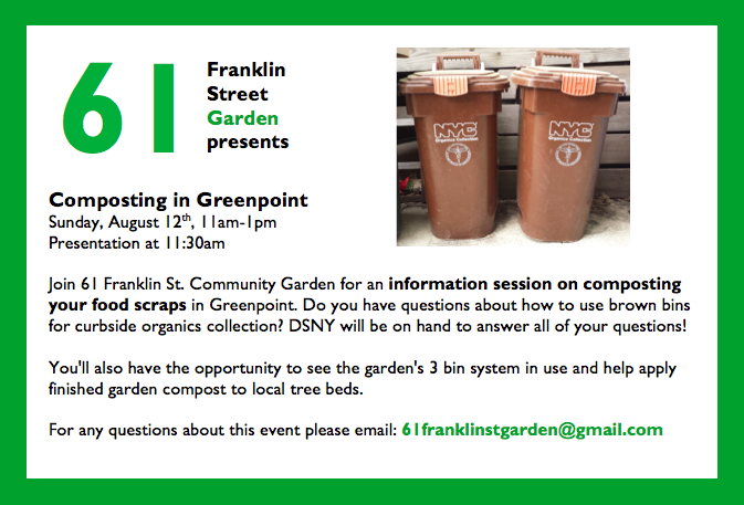 61 Franklin St Aug 12 Compost Event.png