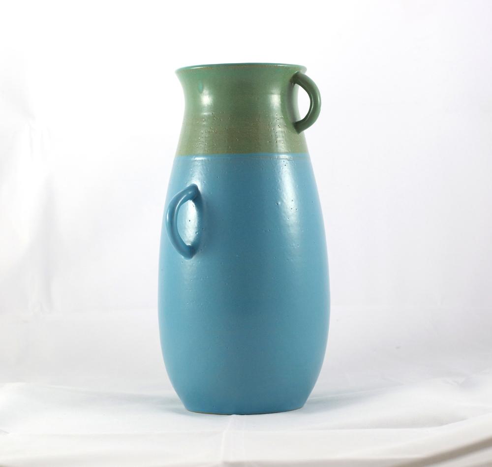 Buff Stoneware Vase