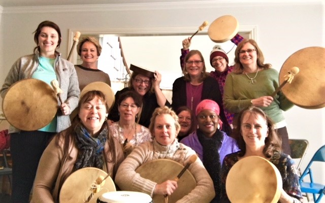 Another Awesome Divine Drumming Bliss Drum Circle Gathering at Ridgeway Place!